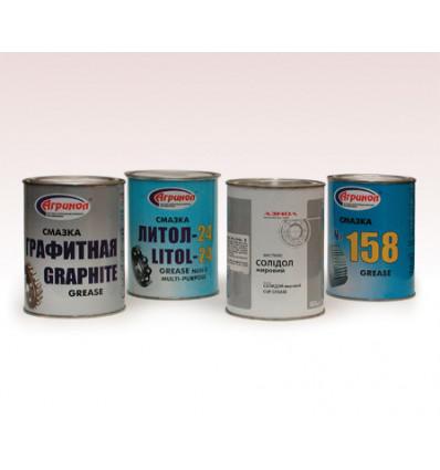 """""""Graphite"""", """"Litol-20"""", """"Solidol"""", """"158"""""""